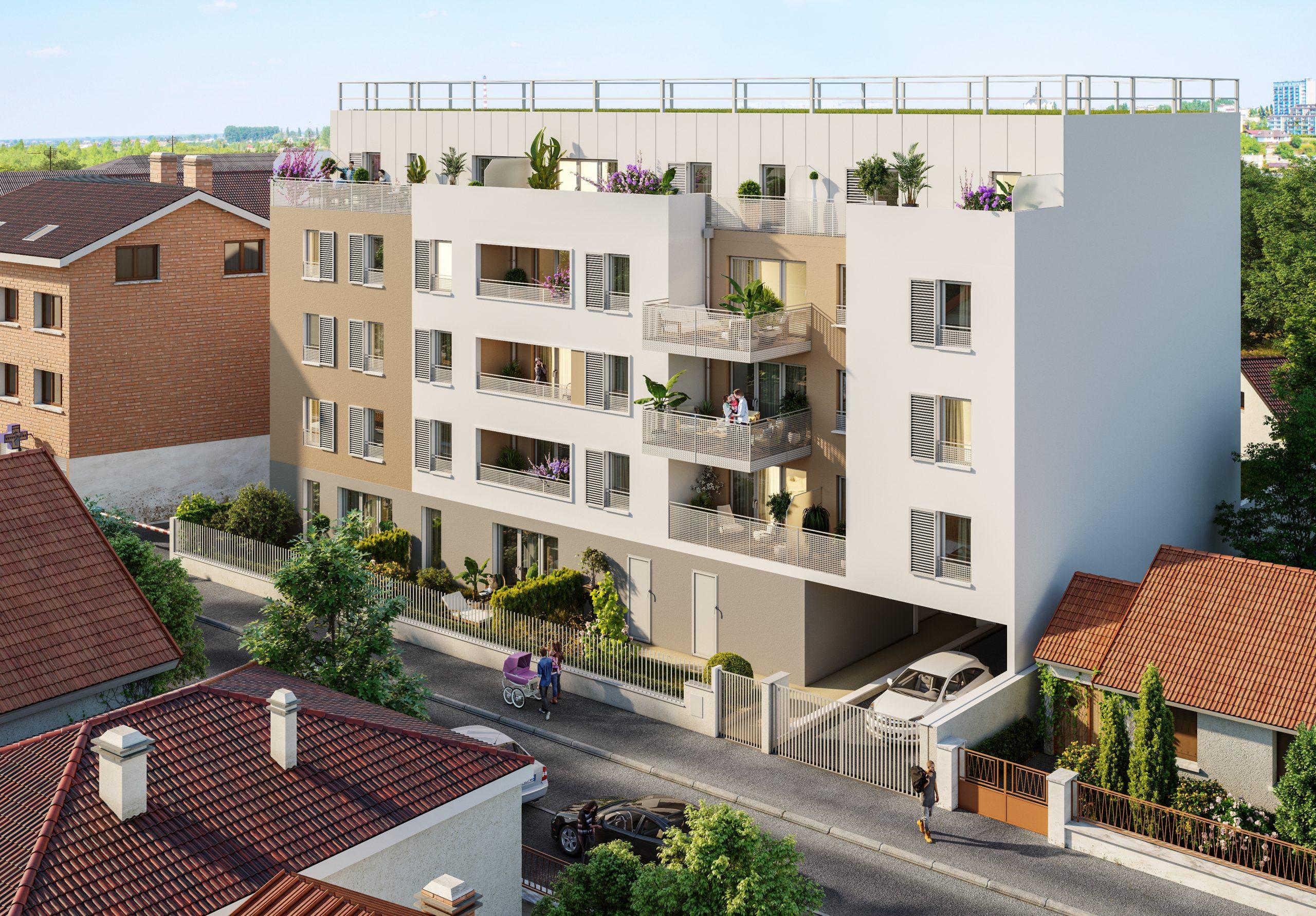 Immeuble 24 Logements Olympe Architecte Paris