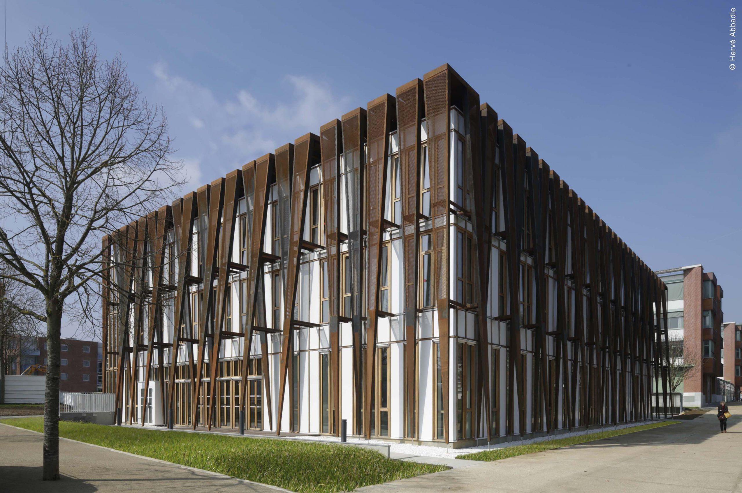 Maison Etudiant Olympe Architecte Guyancourt 78