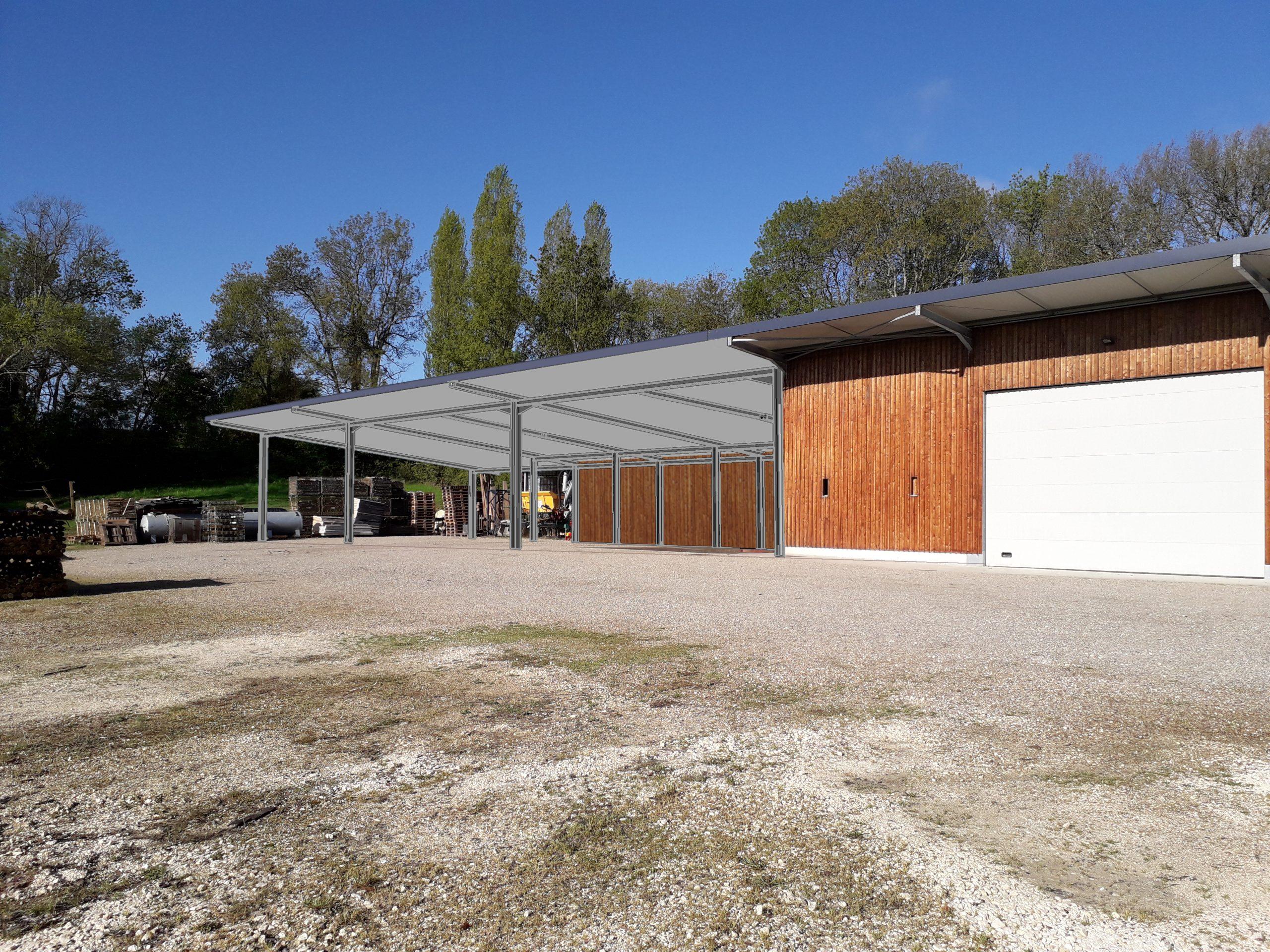 Extension Hangar Vicitole Olympe Architecte Bordeaux