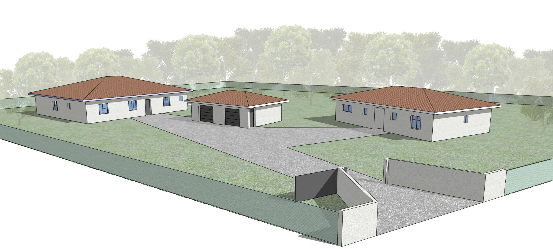 Maisons Individuelles Olympe Architecte Val de L'eyre