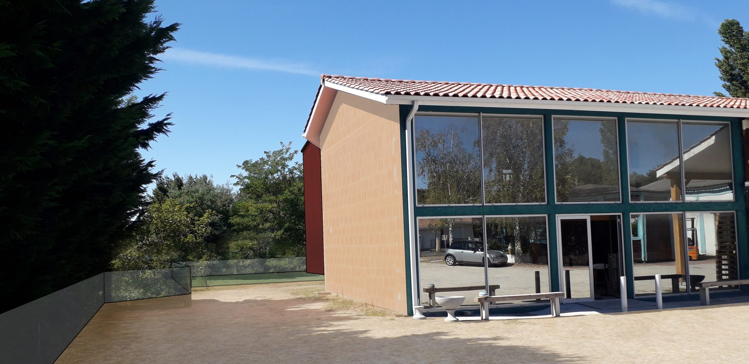 Batiment Stockage Olympe Architecte Salles